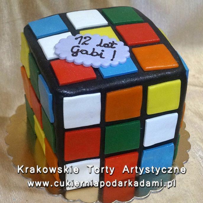 164 Tort W Ksztalcie Kostki Rubika Rubik S Cube Cake