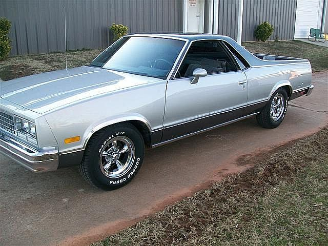 1985 Chevrolet El Camino For Sale Oklahoma Classic Cars Trucks Chevy Muscle Cars Mustang Classic Cars Trucks