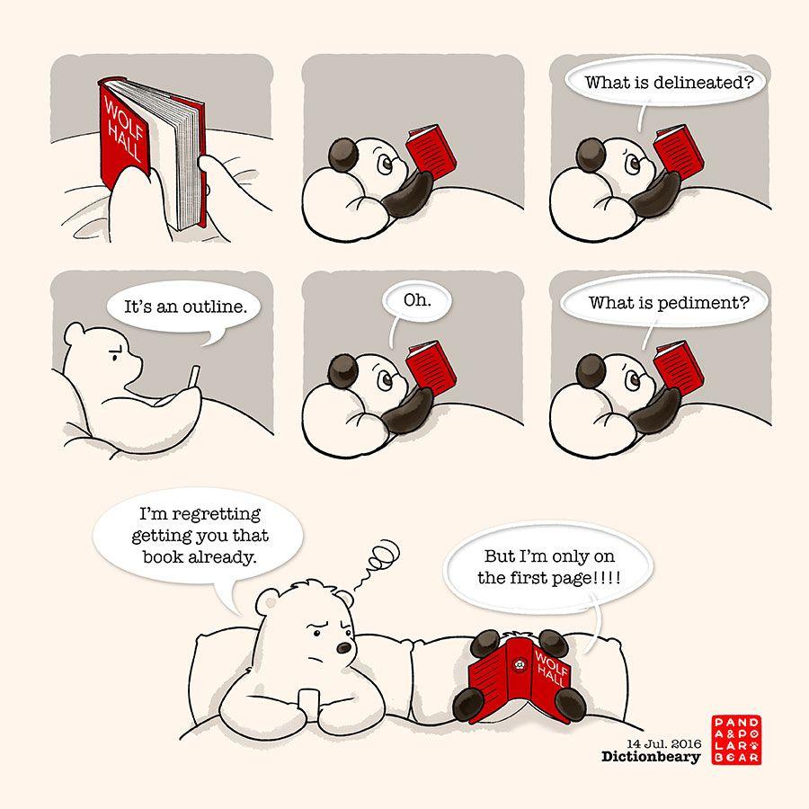 Should Panda just go back to read Paddington Bear...?