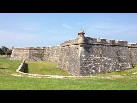 the Castillo De San Marcos at St Augustine Florida