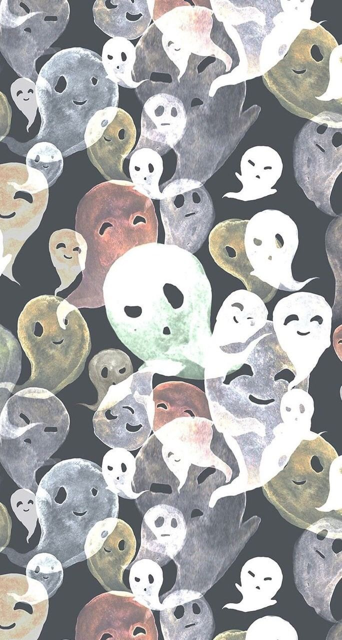 Honestly Okay🍂🌕 in 2020 Halloween wallpaper, Scary