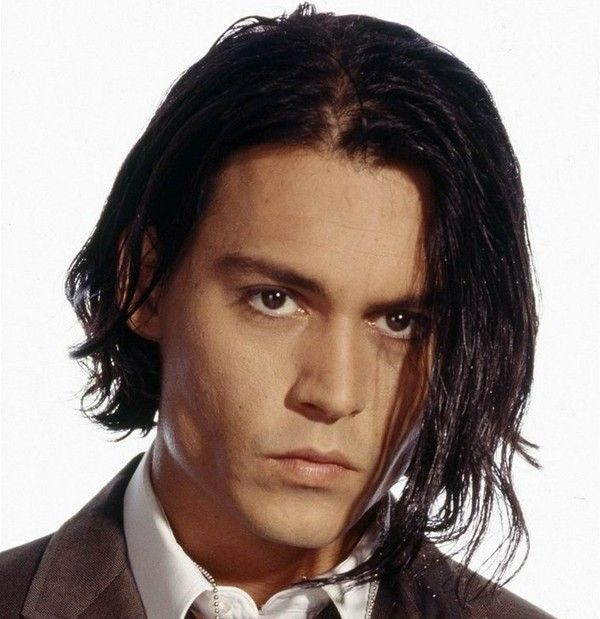 Johnny Depp Photo Johnny With Long Hair Johnny Depp Long Hair Johnny Depp Hairstyle Mens Hairstyles