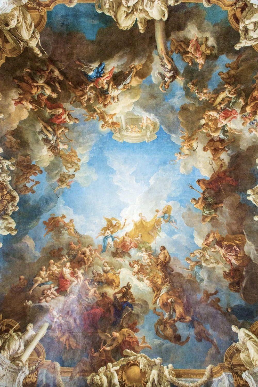 Custom Photo Murals Renaissance Classical Zenith Oil Painting 3d Ceiling Murals Wallpaper Wallpaper A Desk Wallpaper And Images From Wallpaper2017 9 50 Dhgat Rococo Art Baroque Art Renaissance Paintings