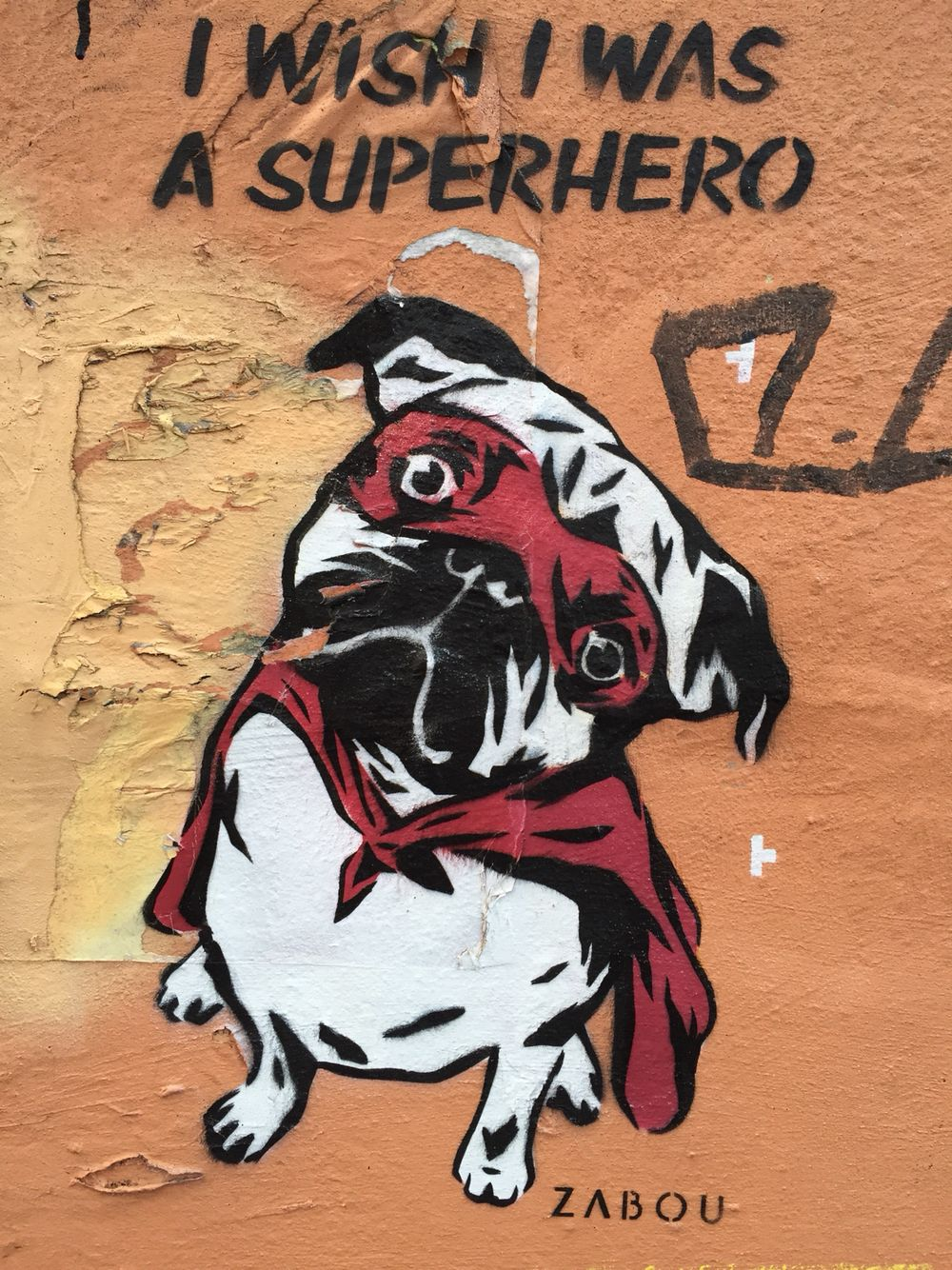Super Hero Graffiti Street Art In Broadway Market By Zabou  # Muebles Tudela Roa