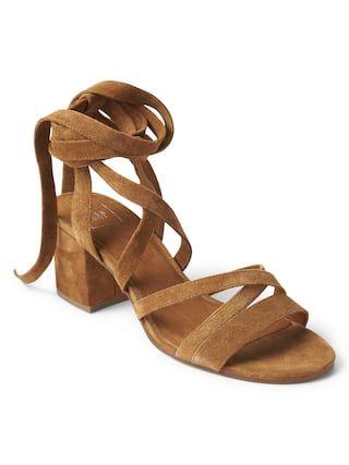 d76493e9c72a Suede multi-strap sandals