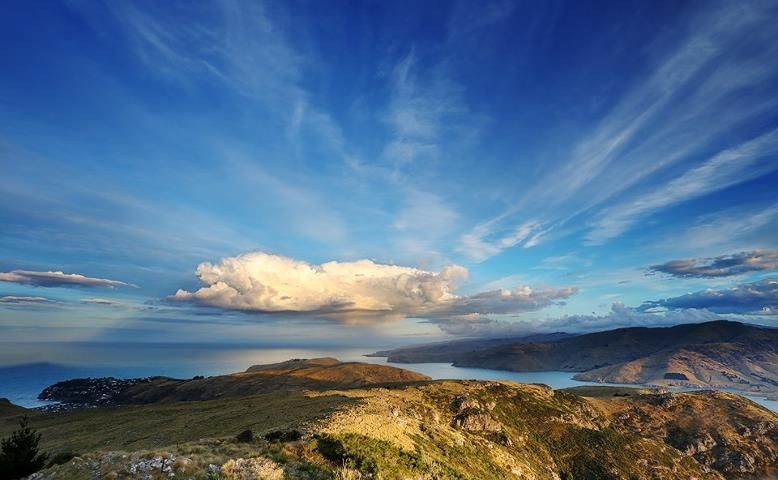 Summers in New Zealand are simply amazing! Check out this photograph from someone hiking through the Port Hills in the South Island.