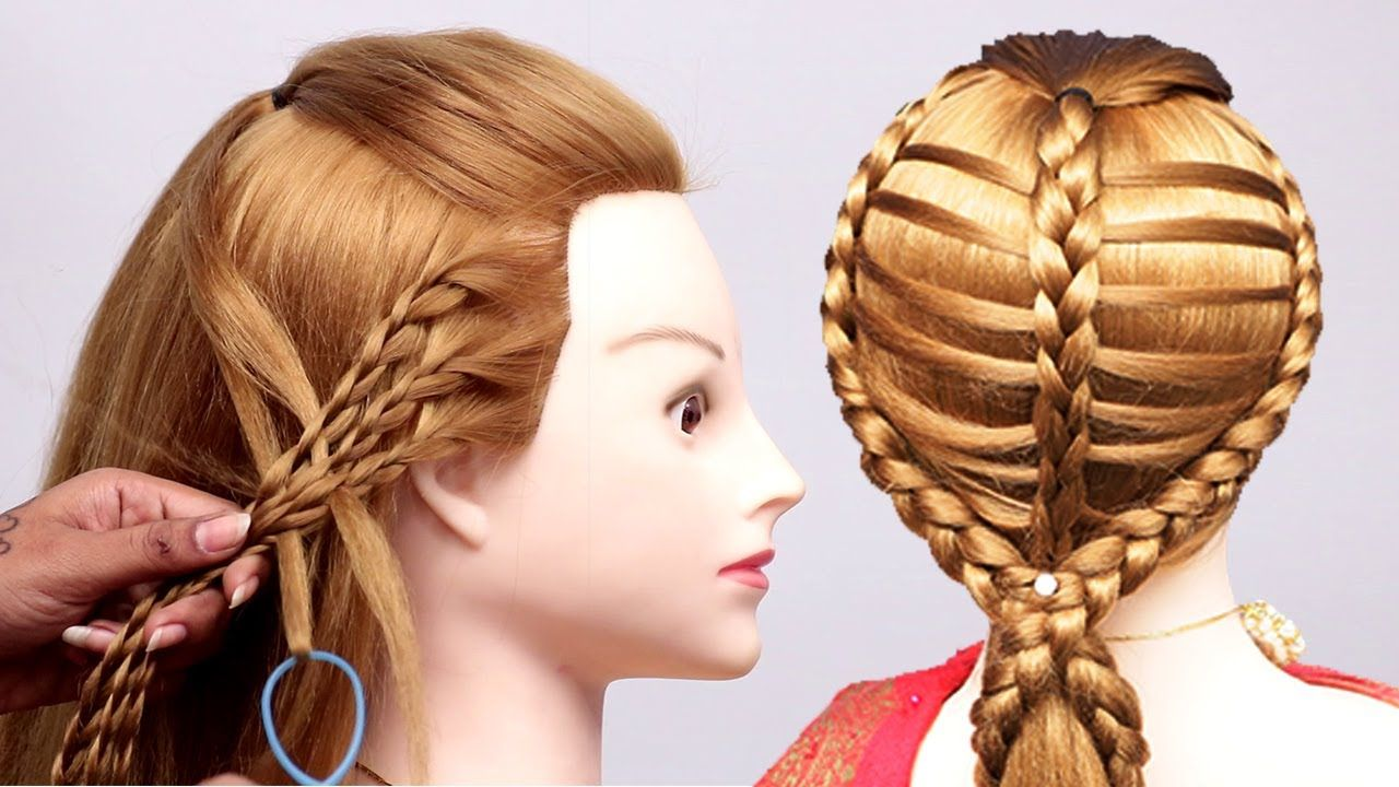 3 casual hairstyles for long hair with braids easy and