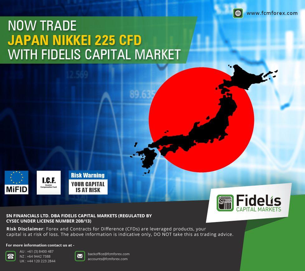 Now Trade Japan Nikkei 225 Cfd With Fideliscapitalmarket Www