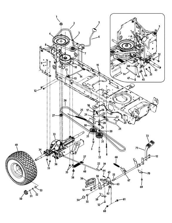 91086ce20a25e0ea2432b8f6515ef957 ltx 1040 clutch diagram mytractorforum com the friendliest cub cadet parts diagrams at soozxer.org