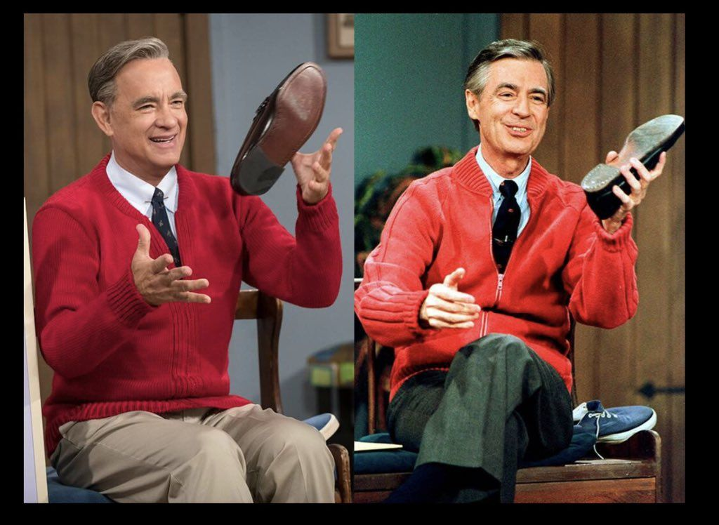 80sthen80snow On Tom Hanks Fred Rogers Mr Rogers Movie