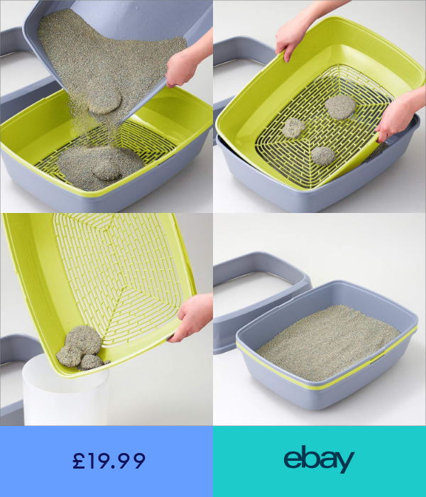 Litter Trays Pet Supplies Ebay Cat Litter Box Diy Litter Box Litter Tray