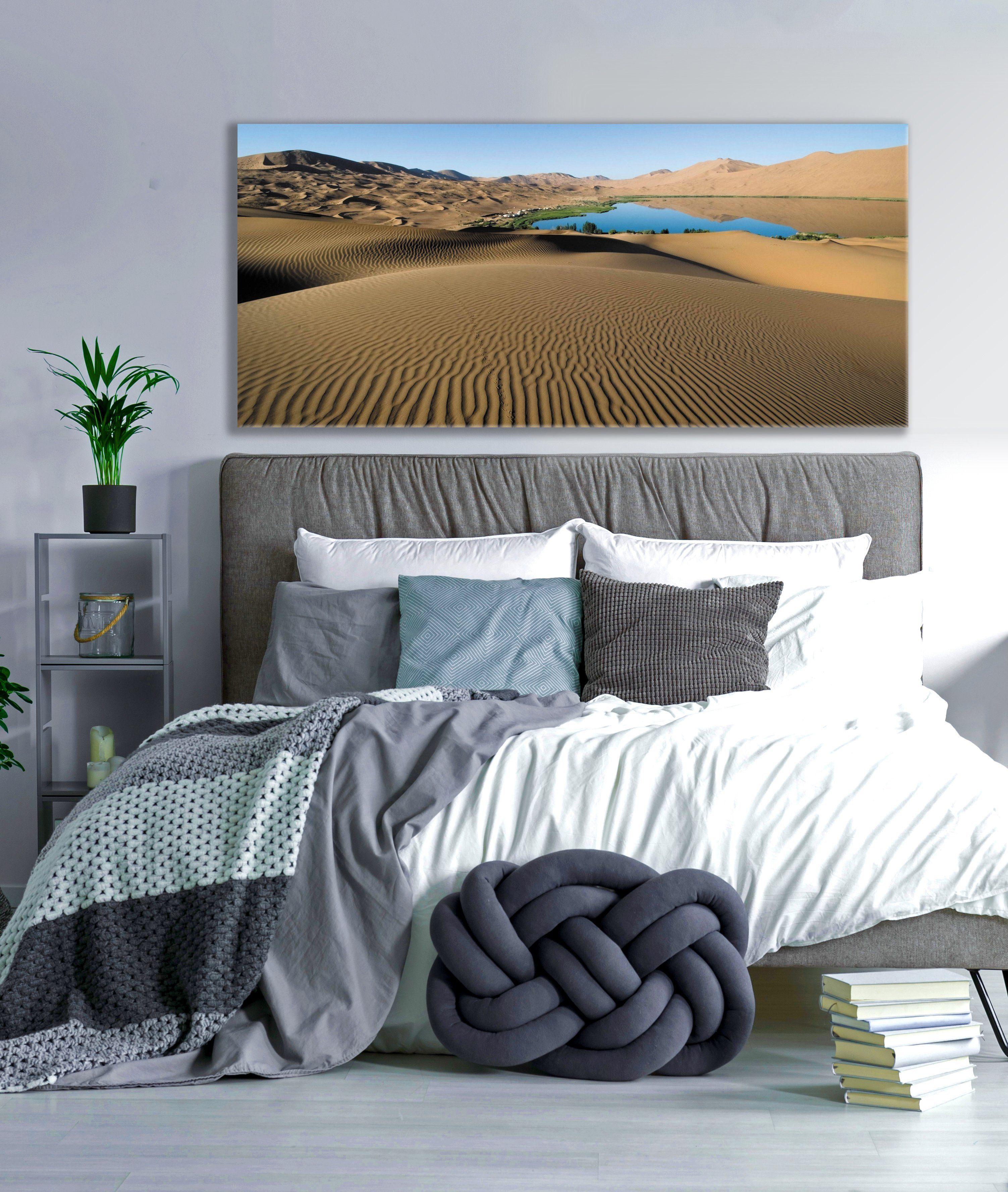 Landscape decor wall art desert wood frame ready to hang