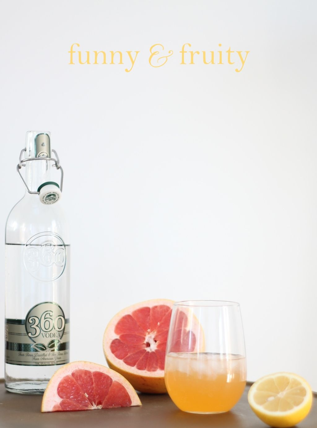 signature drink recipe for a cocktails & commercials watch party