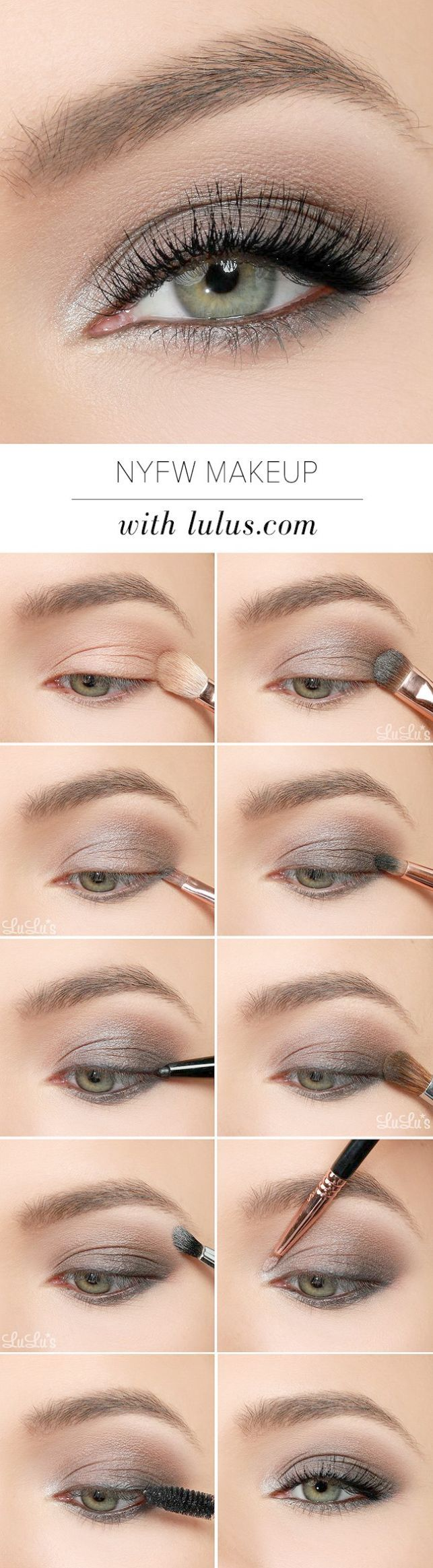 Amazing Eye Makeup For Brown Eyes Over 60 D Smoky Eye Makeup