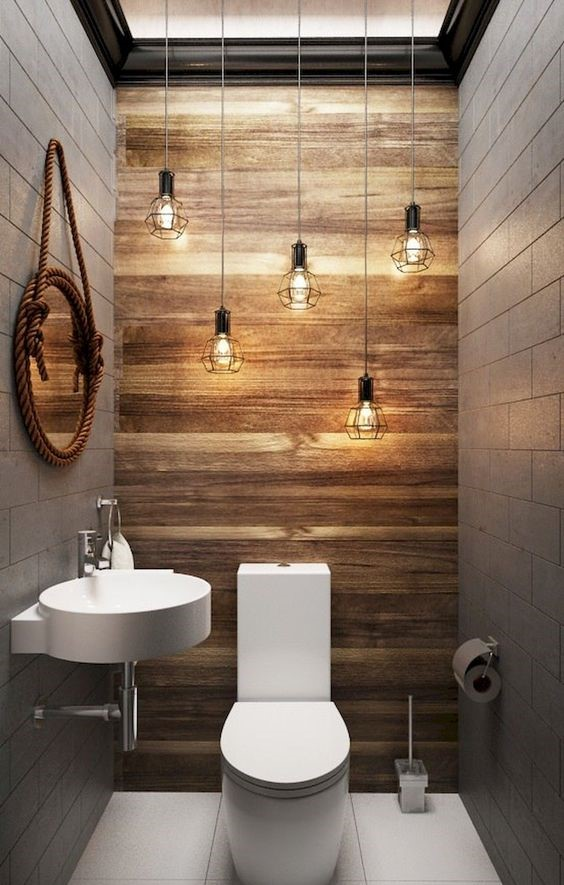 50 Awesome Powder Room Ideas And Designs Renoguide Australian Renovation Ideas And Inspiration Bathroom Design Small Minimalist Bathroom Bathroom Makeover