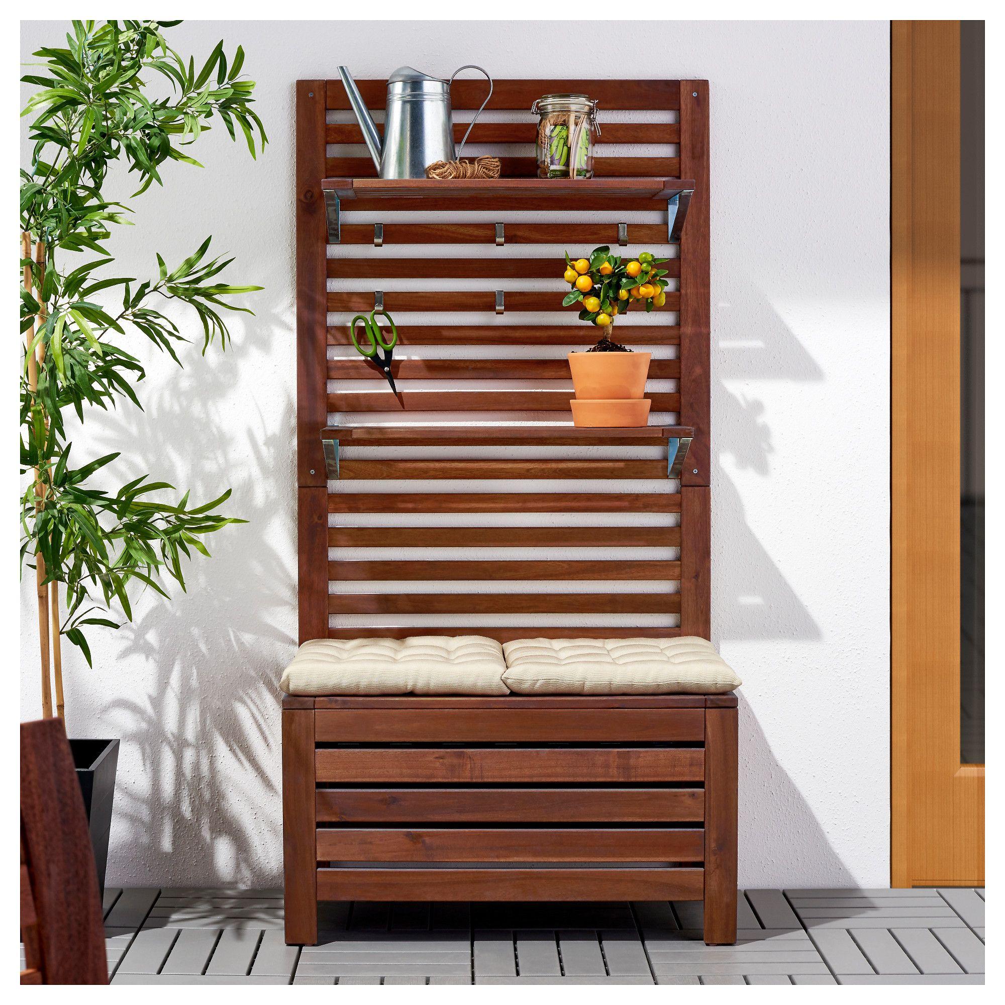 44++ Garden storage bench ikea trends