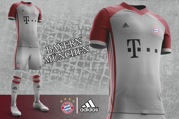 These Adidas FC Bayern Munich concept kits are outstanding.  6ef34cc89