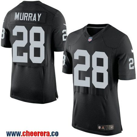 Hot Men's Oakland Raiders #28 Latavius Murray NEW Black Team Color  for sale