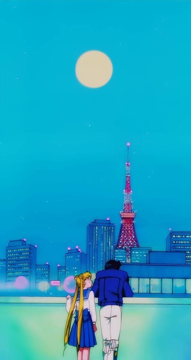 Pretty Guardian In A Sailor Suit Sailor Moon Wallpaper Sailor Moon Aesthetic Sailor Moon