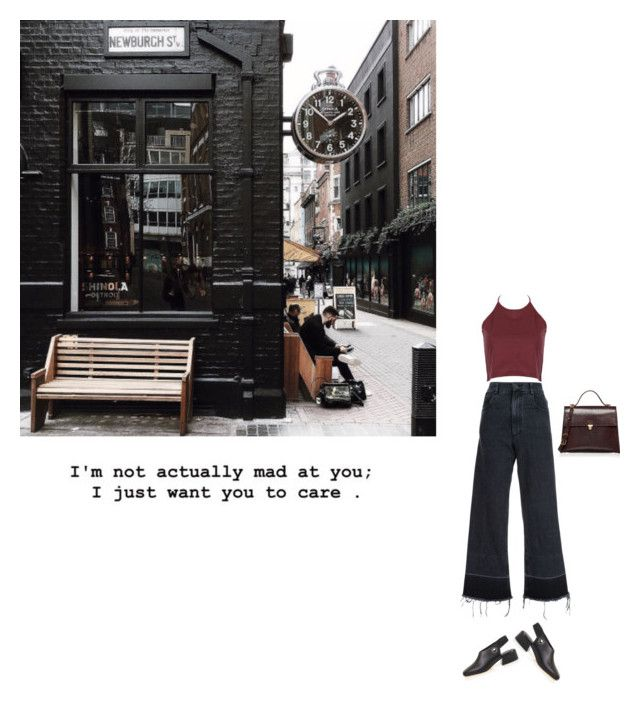 """""""not mad"""" by mahaa1 ❤ liked on Polyvore featuring Rachel Comey, Marni and TIBI"""