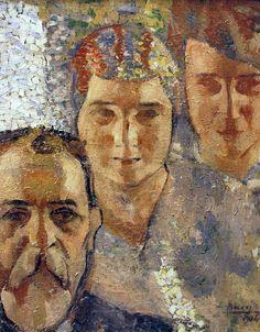 Anselmo Bucci - Mio Padre e le mie Sorelle 1914