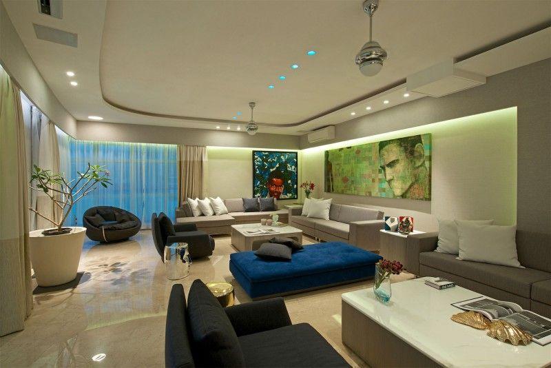 Gupta Apartment by ZZ Architects Mobiliario Pinterest Lujoso - diseo de interiores de departamentos