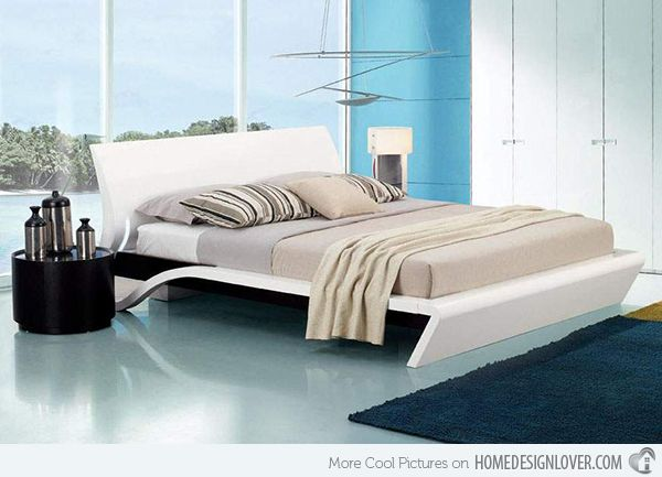 15 Stylistic Curved Platform Beds Modern Bed Bed Modern
