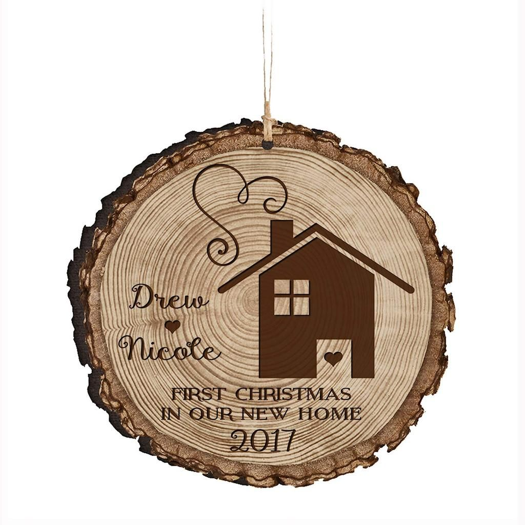 Personalized Couple Christmas New Home Ornaments Holiday