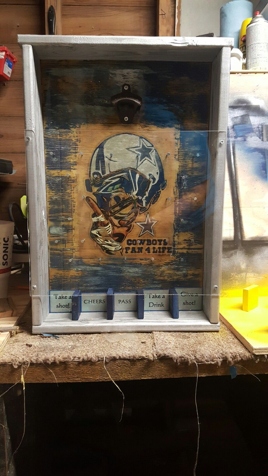 Dallas Cowboys Plinko Board | Plinko | Pinterest