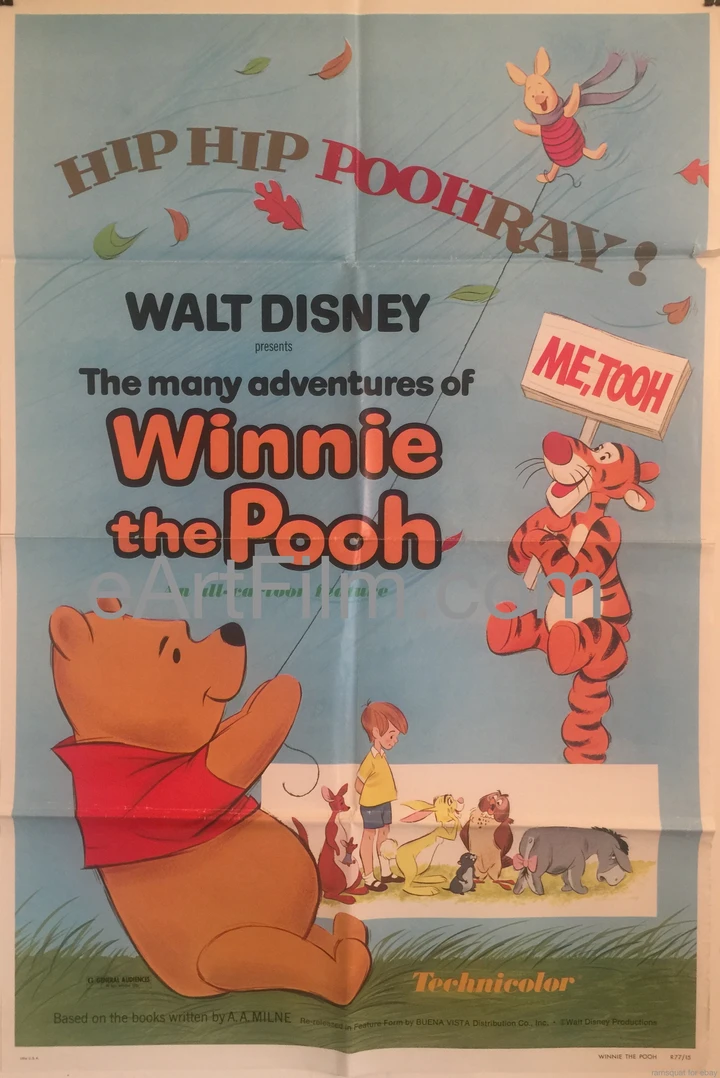 Many Adventures Of Winnie The Pooh1977 animated