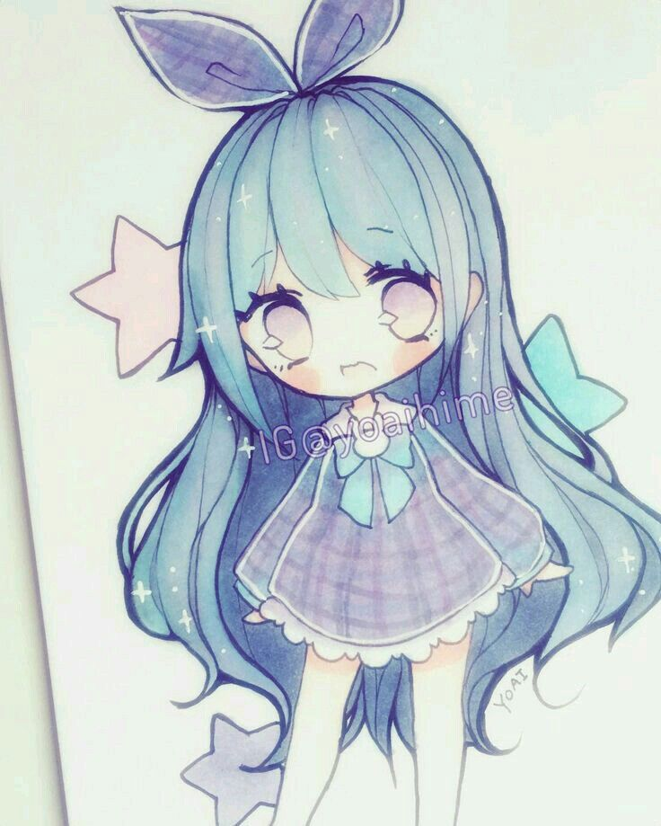 Cute Anime Chibi Drawings