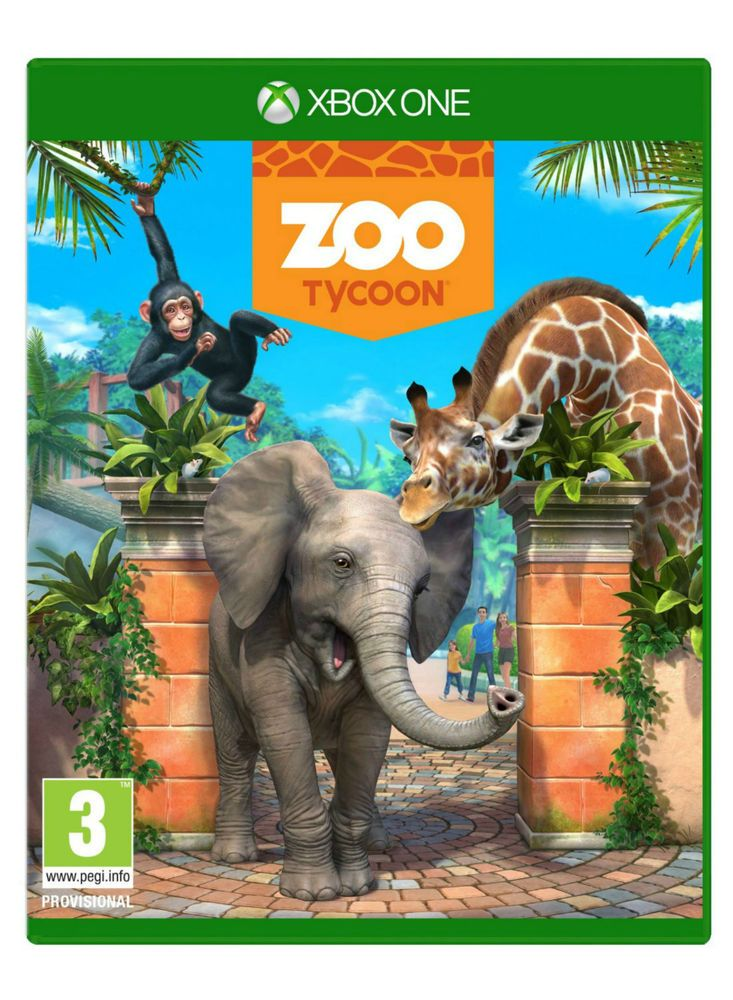 Zoo Tycoon (Xbox One) (Full Game Digital Download) Fast