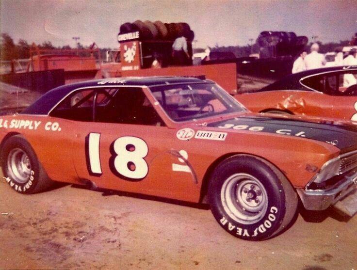 Ellis Ford Stock Car Driver
