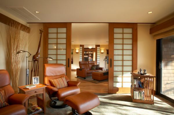 10 Sliding Interior Doors A Practical And Stylish Alternative For All Types Of Homes Asian Living Rooms African Living Rooms Small Living Rooms