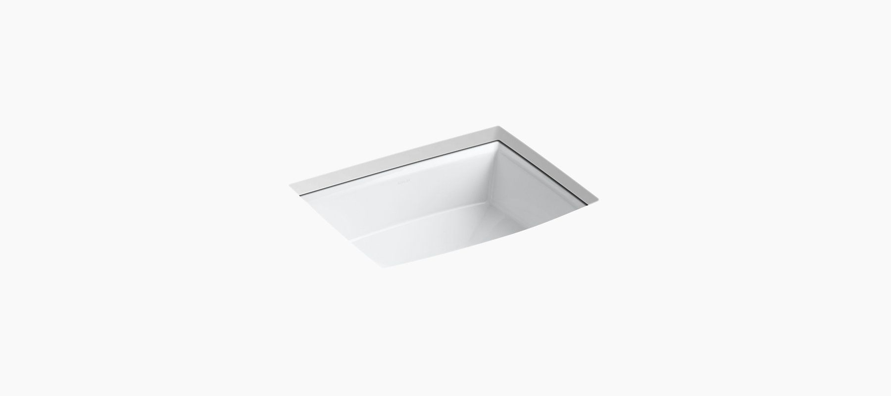 detailed with beveled edges, the k-2355 sink coordinates with ... - Kohler Archer Lavabo Con Piedistallo
