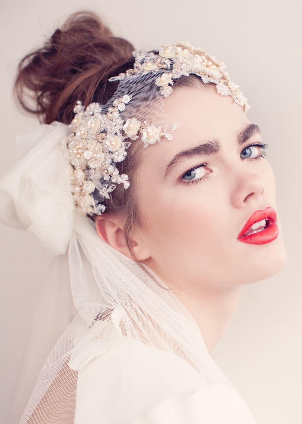 Yo quiero comer perdices contigo.. | Tocados novia | Pinterest | Me ...