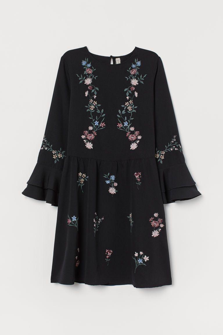 Luxus H Und M Basic Kleid Schwarz Bilder - Bilder und ...