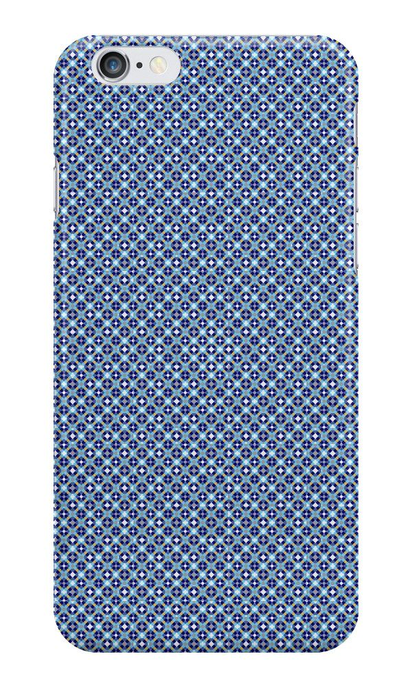 Pattern #1010 - blue #IPhone #case / #skin with pattern http://www.redbubble.com/people/kuzmich/works/20878396-pattern-1010-blue?c=488730-the-patterns&p=iphone-case&ref=work_collections_grid