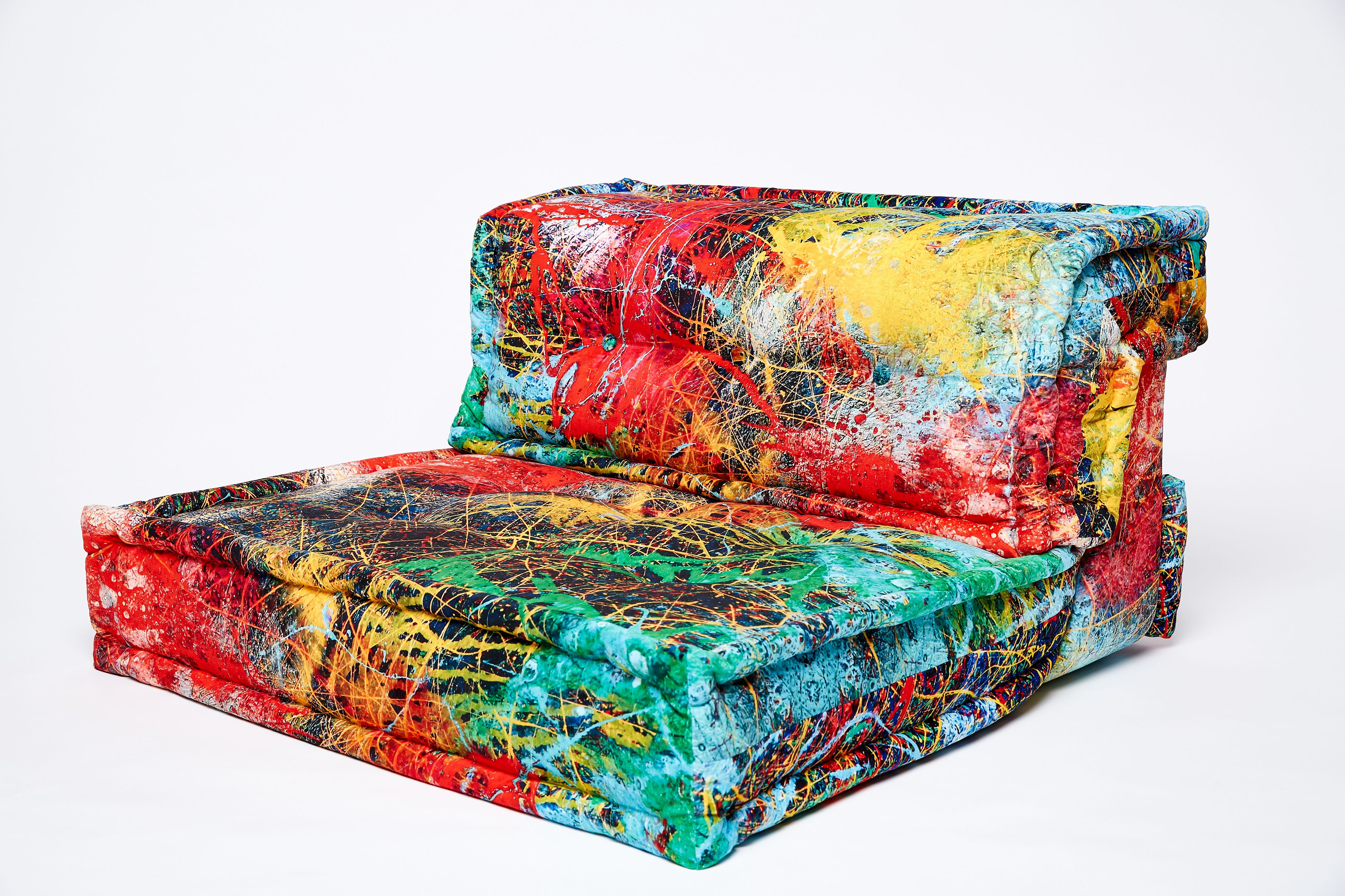 A Special Edition Mah Jong To Celebrate 10 Years Of Roche Bobois  # Muebles Roche Bobois