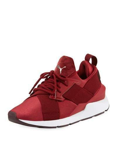 6feaa10e Women's Muse Satin II Sneakers Red in 2019 | Style | Shoes, Sneakers ...