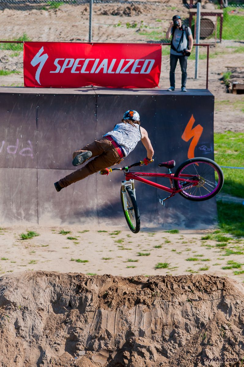 Dirt Jumping competition  #dirtjumping #bike #bycycle #competition #racing #bychykhin #sport