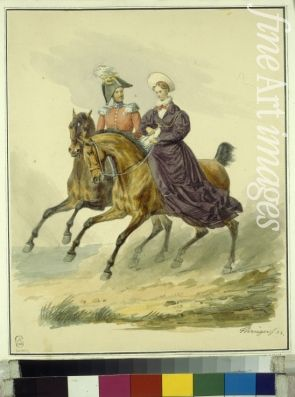 - Emperor Nicholas I and Empress Alexandra Fyodorovna (Charlotte of Prussia)