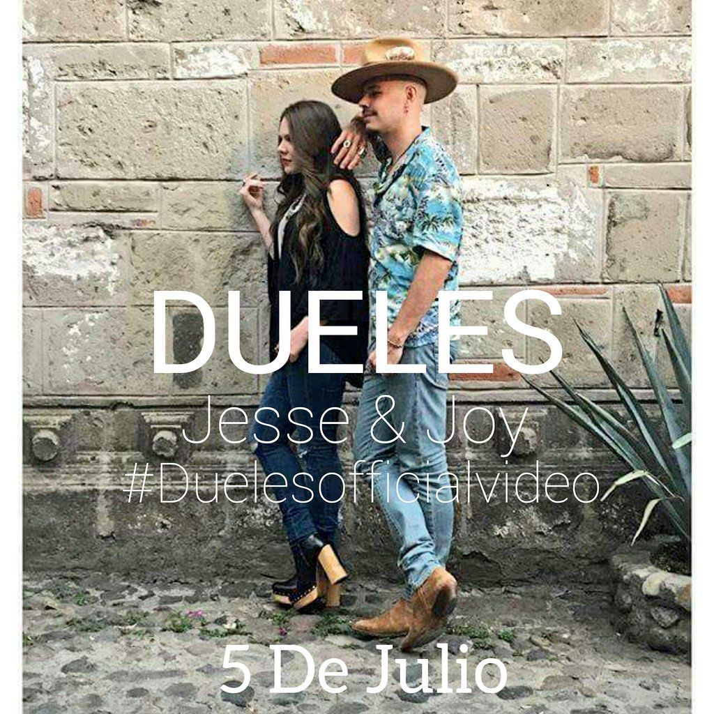 5 de julio se estrena Dueles, nuevo video clip de #Jesse&Joy