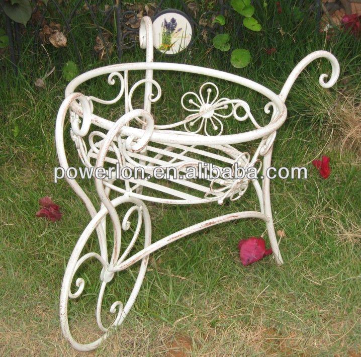 Resultado de imagen de carretillas muebles de hierro para for Carretillas para jardin