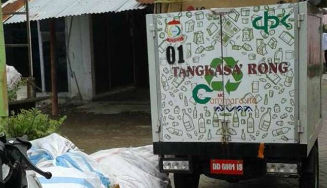 Makassar Kenalkan Aplikasi Tangkasarong Untuk Masalah Sampah Aplikasi Tabungan Rekening Bank