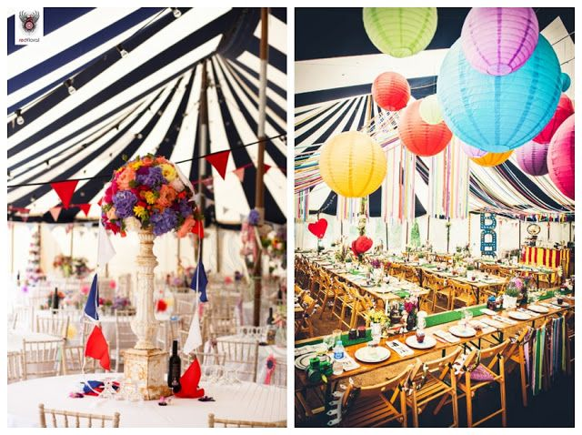 Fabulous Wedding Marquee Inspirationstriped Tent