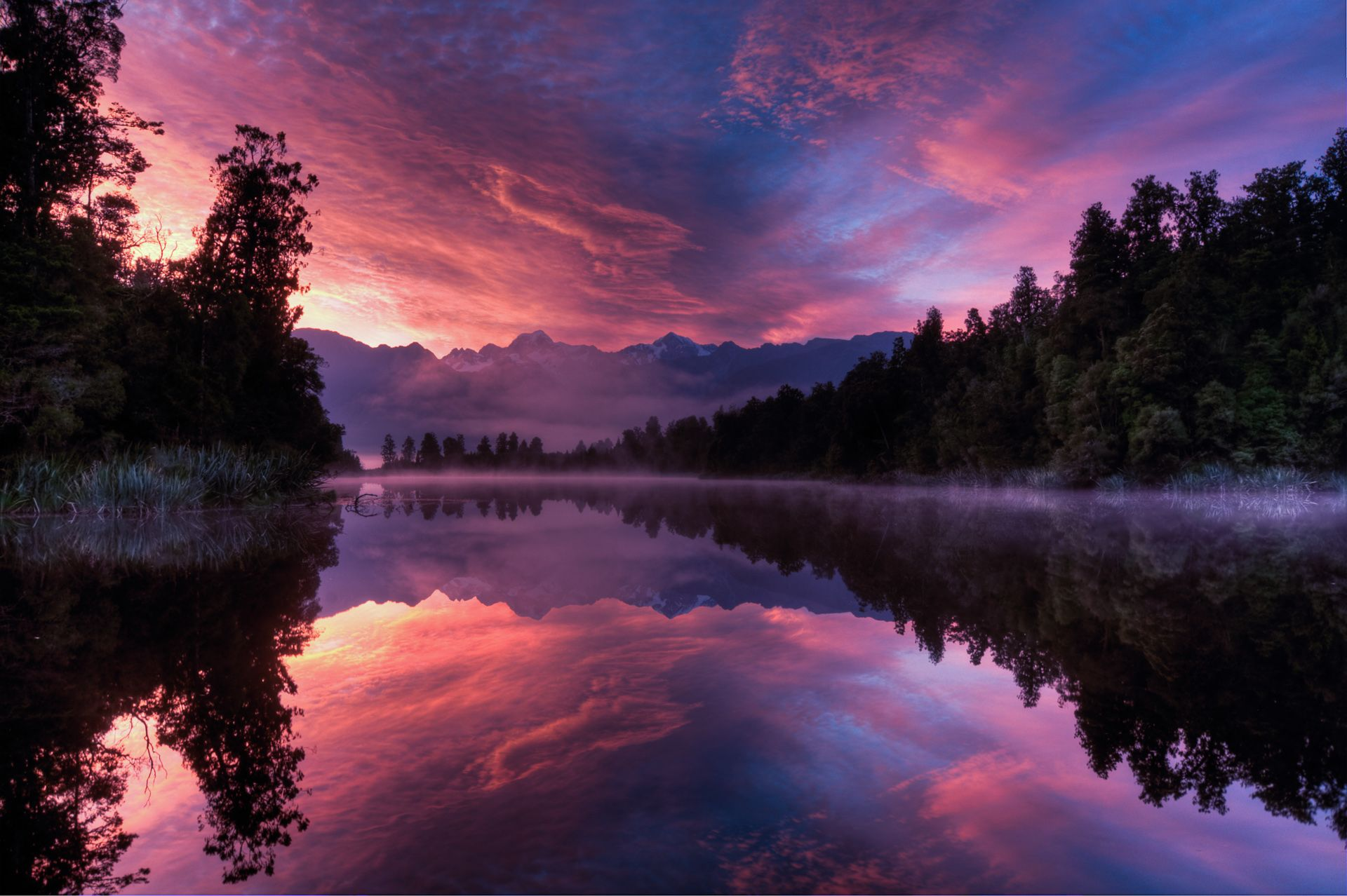 Lake Matheson New Zealand Please Take Me There