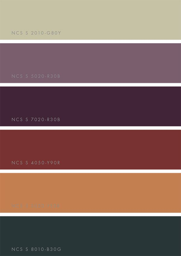 Ncs Color Trends 2018 Win A Printed Guide Herbsttyp