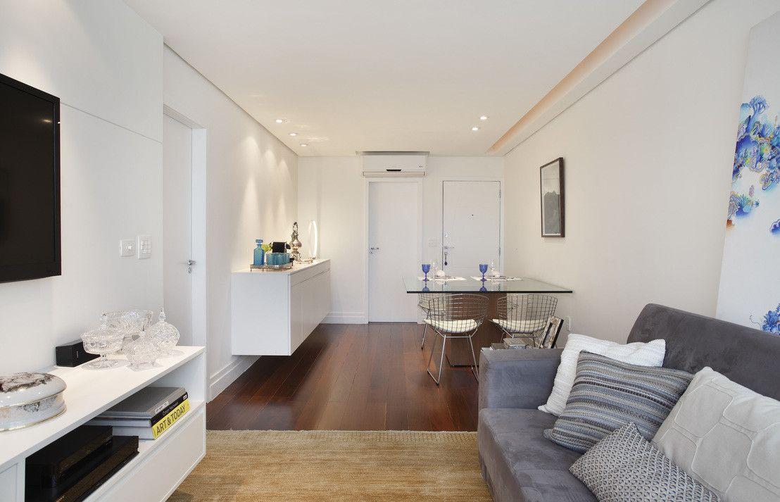 Apartamento 08 : Salas de jantar modernas por Estúdio Barino