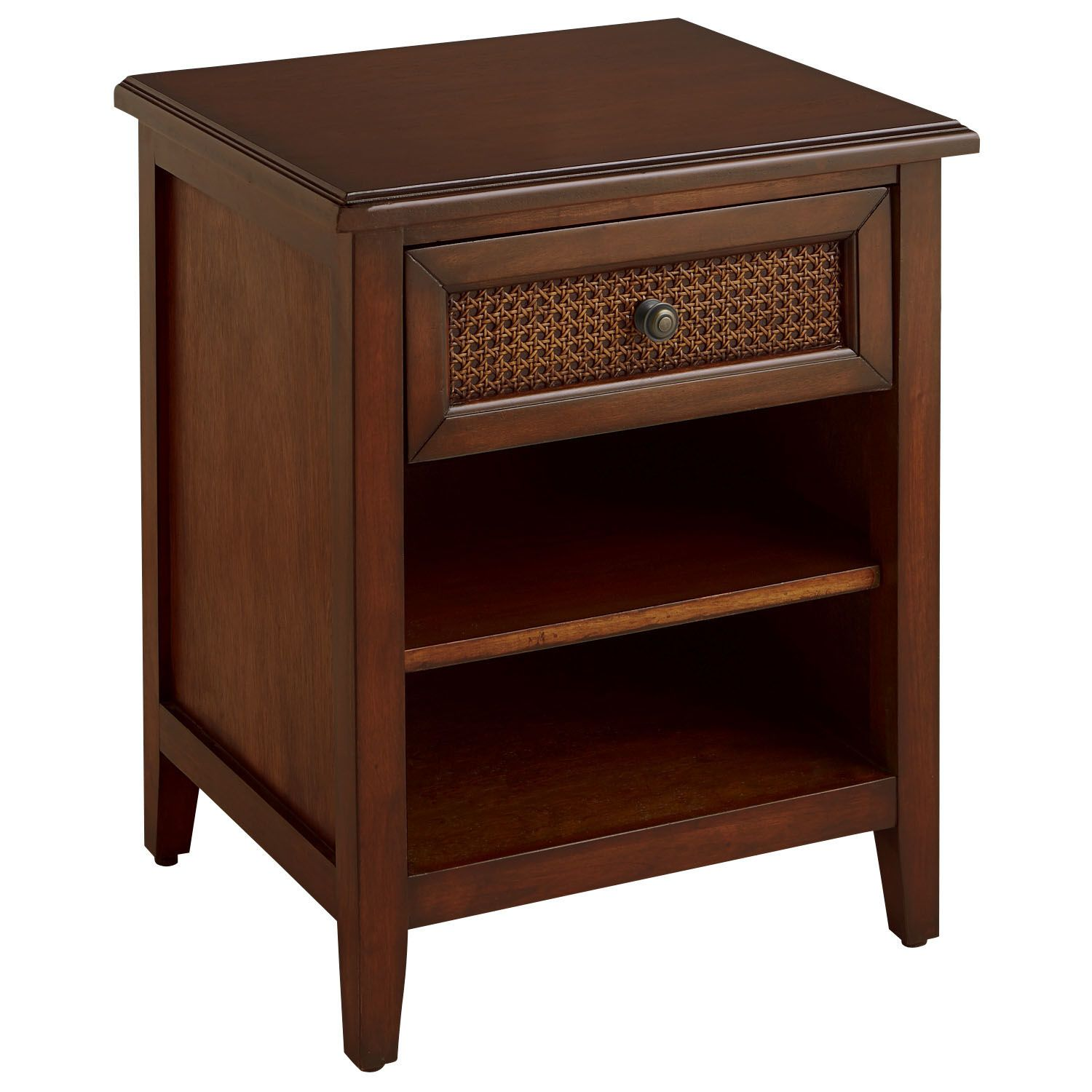 melia nightstand tobacco brown pier 1 imports